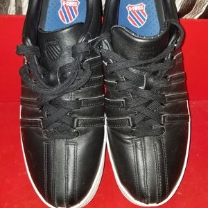 K-Swiss Mens Black Sneakers, Size 10